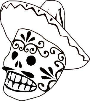Маска, Мексикански, Сомбреро