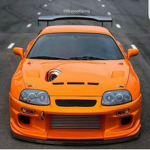 RIP BUSTER Toyota Supra, built just like the one in 2F2F and the reason why I love tuners