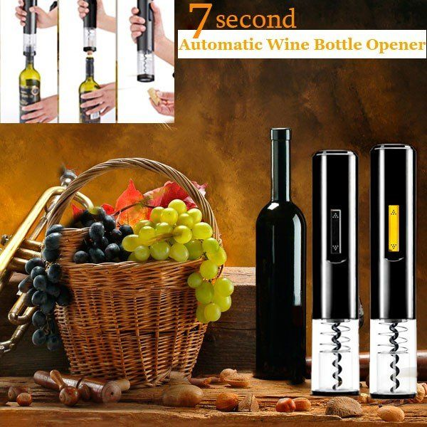 Automatic Wine Opener Automatic Electric Wine Bottle Opener at Banggood
