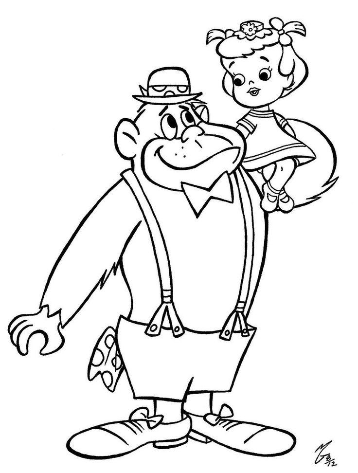 perfect magilla gorilla coloring with gorilla coloring pages - Silverback Gorilla Coloring Pages