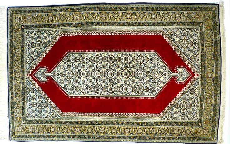 Orientteppich Ghom Qom mit Seide TOP (T035)