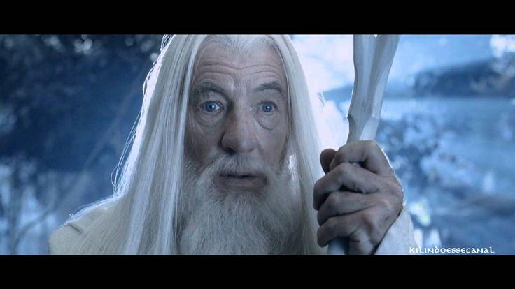 Gandalf retorna como ''Gandalf - O Branco'' - O Senhor dos Anéis - Duas Torres