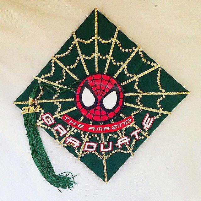 #Spiderman Inspirational #Graduation Cap