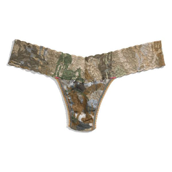 Hanky Panky Camo Print Low Rise Thong Multi One Size and other apparel, accessories and trends. Browse and shop related looks.