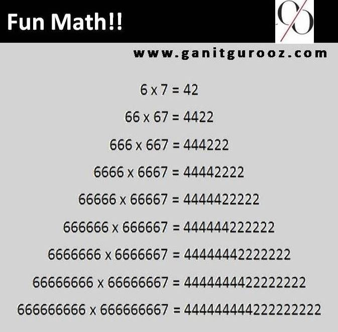 13 best images about Fun Math on Pinterest | Nice, Beauty ...