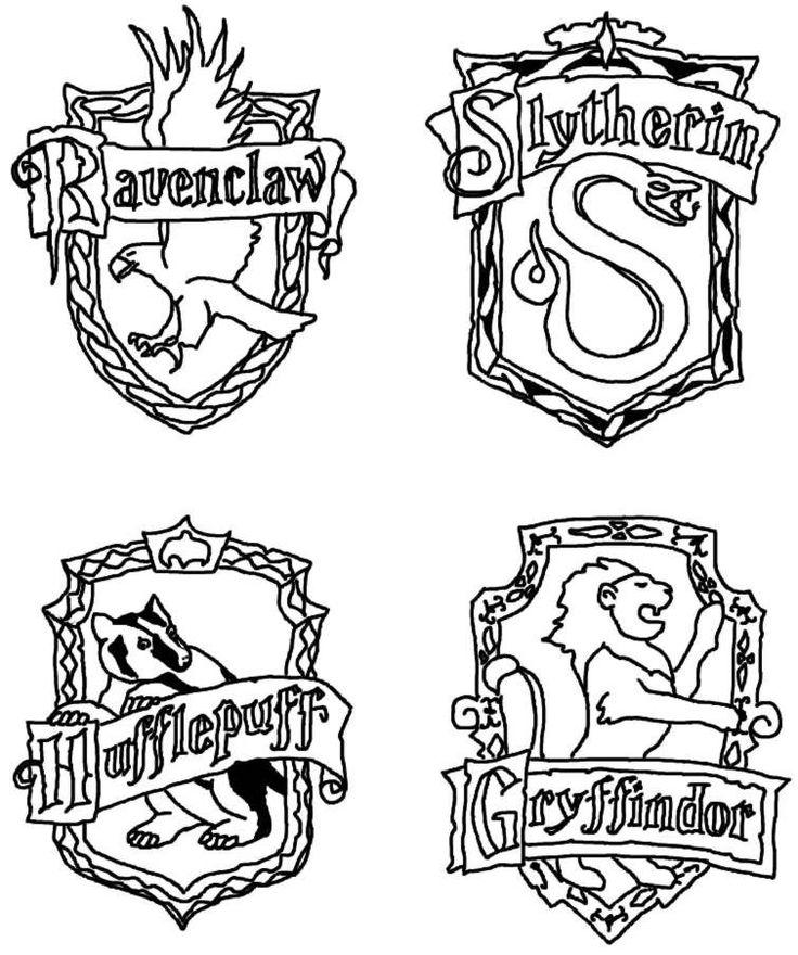 Épinglé par Pananda sur Harry potter | Coloriage harry ...