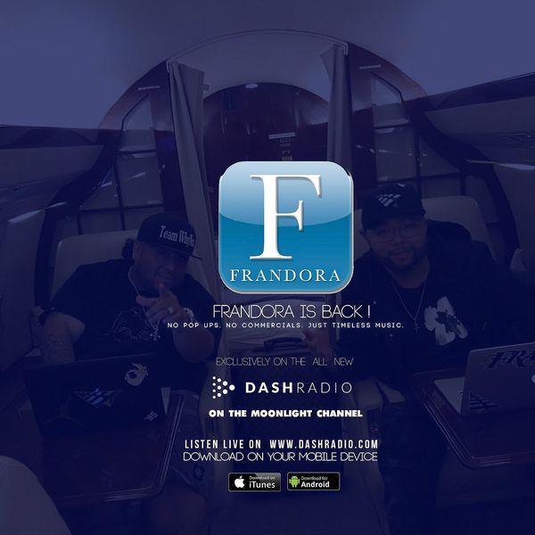 Frandora on Moonlight channel on Dash radio app every Mon night 9p-11p