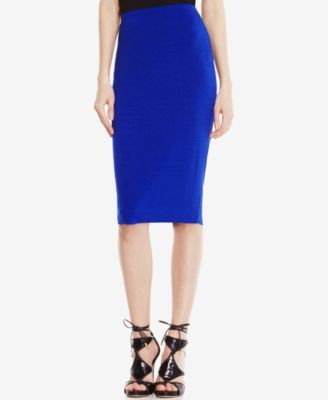 Vince Camuto Stretch-Knit Pencil Skirt | macys.com
