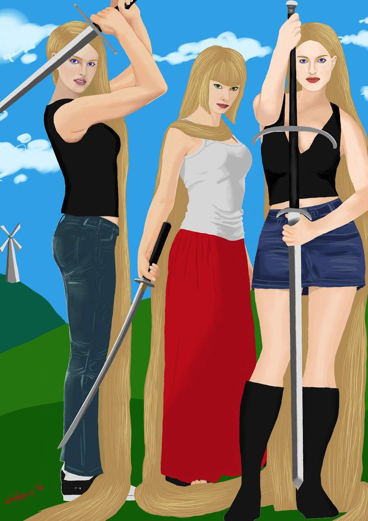Beauties and the Blades by JohnHeavy.deviantart.com on @DeviantArt