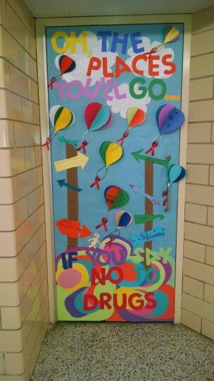 Classroom Door Decoration Ideas For Red Ribbon Week ~ Ideas about red ribbon week on pinterest drug free