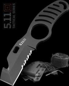 Couteau de combat 5.11 Tactical Side Kick Rescue Acier AUS-8 FTL51046 - Livraison Gratuite Couteaux 5.11 Tactical