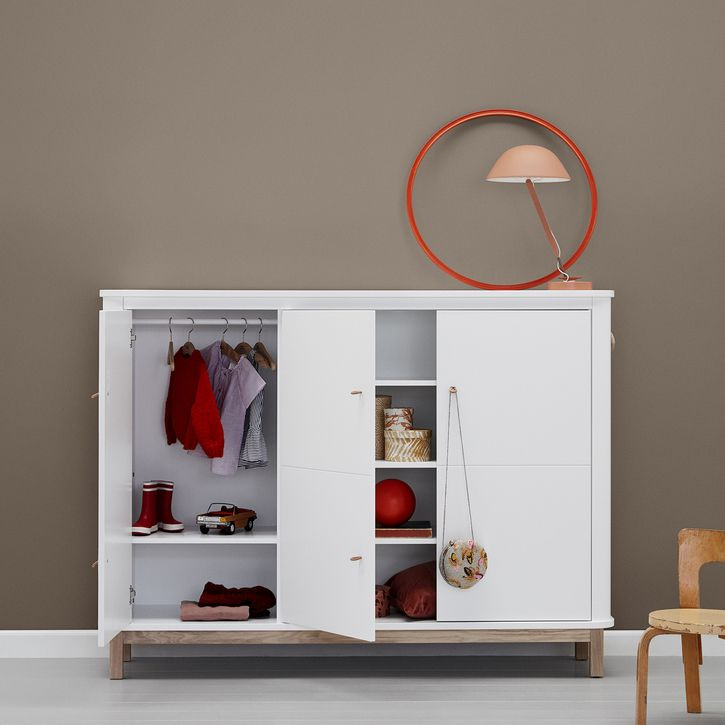 Tall Sideboard Cupboard by Oliver Furniture   Nubie