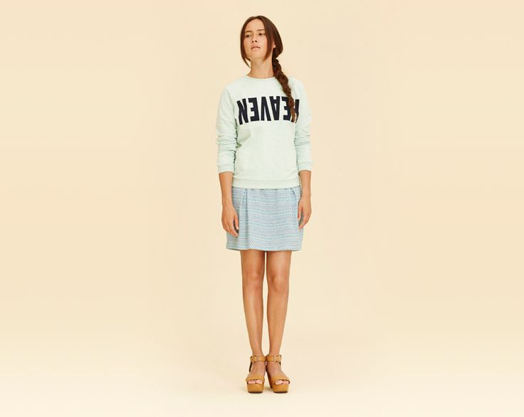 #libertinelibertine #skirt #sweatshirt #womenswear #fashion  http://www.urbag.cz/damske-obleceni-libertine-libertine-jaro-leto-2014/