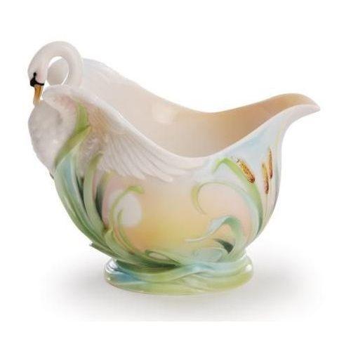 Swan Creamer | Southern Splendor | Porcelain | Franz