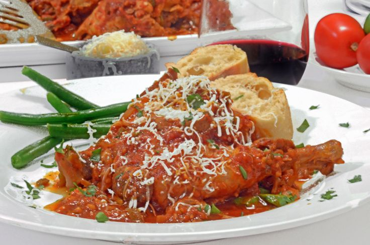 Slow Cooker Chicken Cacciatore Recipe is fast, economical and delicious. Let your crock pot do the work, you deserve a break today!