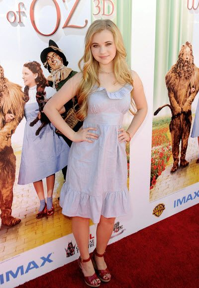 Sierra McCormick At The Wizard Of Oz 3D Premiere September 15, 2013