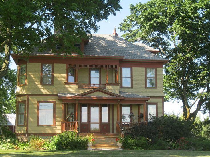John C. and Mary Robinson Farmstead in Rock County, Wisconsin.