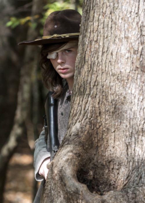 « Carl Grimes dans The Walking Dead Saison 7 Episode 15 | Quelque chose dont ils ont besoin »