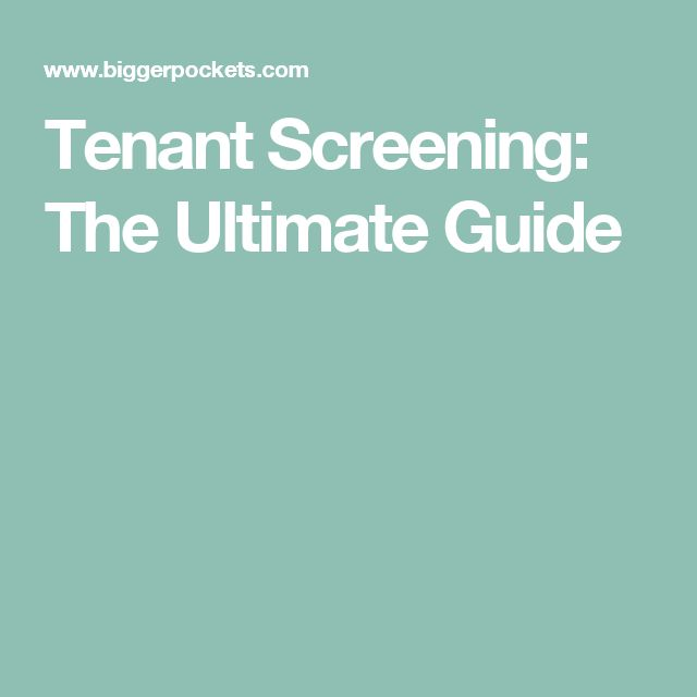 The 25+ best Tenant screening ideas on Pinterest Tenant - personal service contract