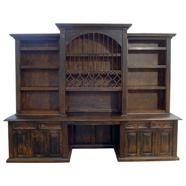 Superb Los Molinos Bookcase | Western Bookcases | Western Living_room | Western  Furniture