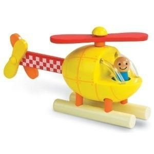Janod Magnetic Helicopter  If you have not introduced a  3D, magnetic puzzle to her, now is the time. While you help use words like on, back, front, bottom and top. This improves her spacial skills.