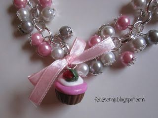 Braccialetti bon-bon rosa