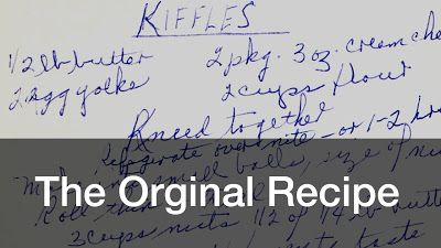 Eva Seibert's kiffle recipe - The Morning Call