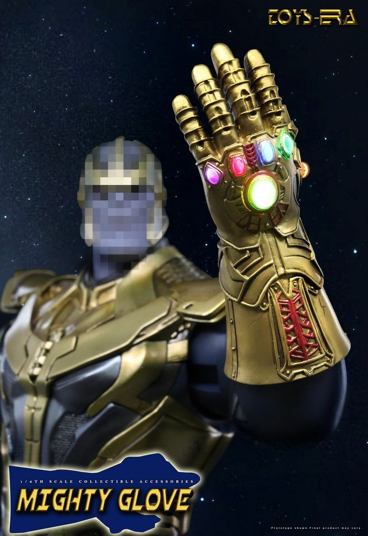 PRE-ORDER 1/6 Scale Mighty Left Gauntlet Glove by Toys Era