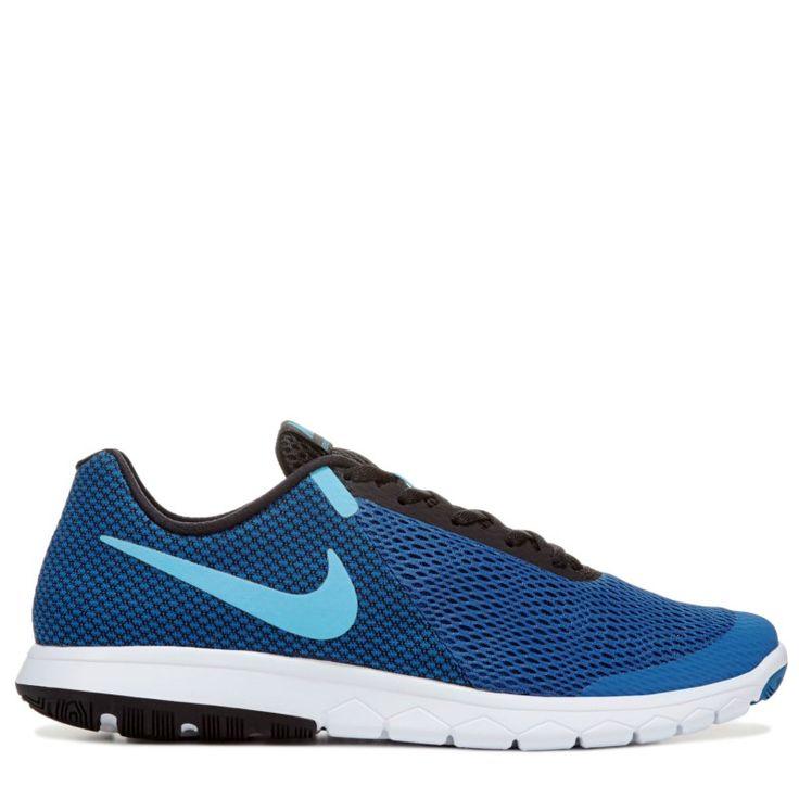 Nike Men's Flex Experience RN 6 Running Shoes (Blue/Black/White)