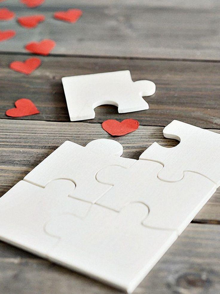 DIY-Anleitung: Valentinstags-Puzzle selber machen via DaWanda.com