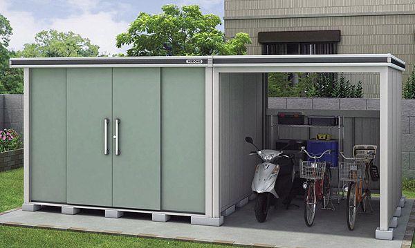 エルモコンビ 駐輪スペース付き物置