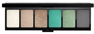 MAC Fruity Juicy Love In The Glades Eyeshadow Palette - Love In The Glades.   A palette of six eyeshadows in the soft grey-greens of an island forest, presented with tropical fruit and floral-print packaging. These highly pigmented powder shades apply evenly to your lids and blend well. They can be used wet or dry.   (afflink)