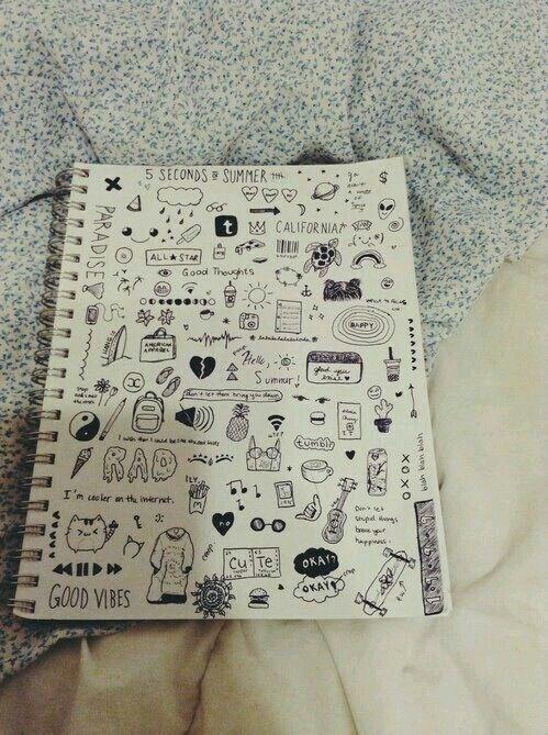 Tumblr grunge drawing