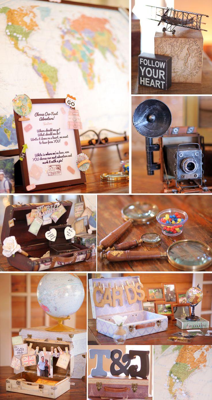 Wedding Themes - Travel around the world with us