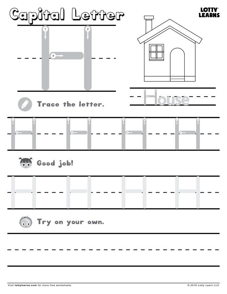 capital letter h lotty learns abc printables uppercase letter h worksheets letter g. Black Bedroom Furniture Sets. Home Design Ideas