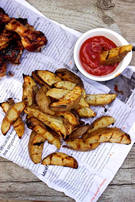 Cajun Grilled Fries | Crispy on the outside, fluffy on the inside. You don't have to heat up the house to enjoy a good fry with your burger.