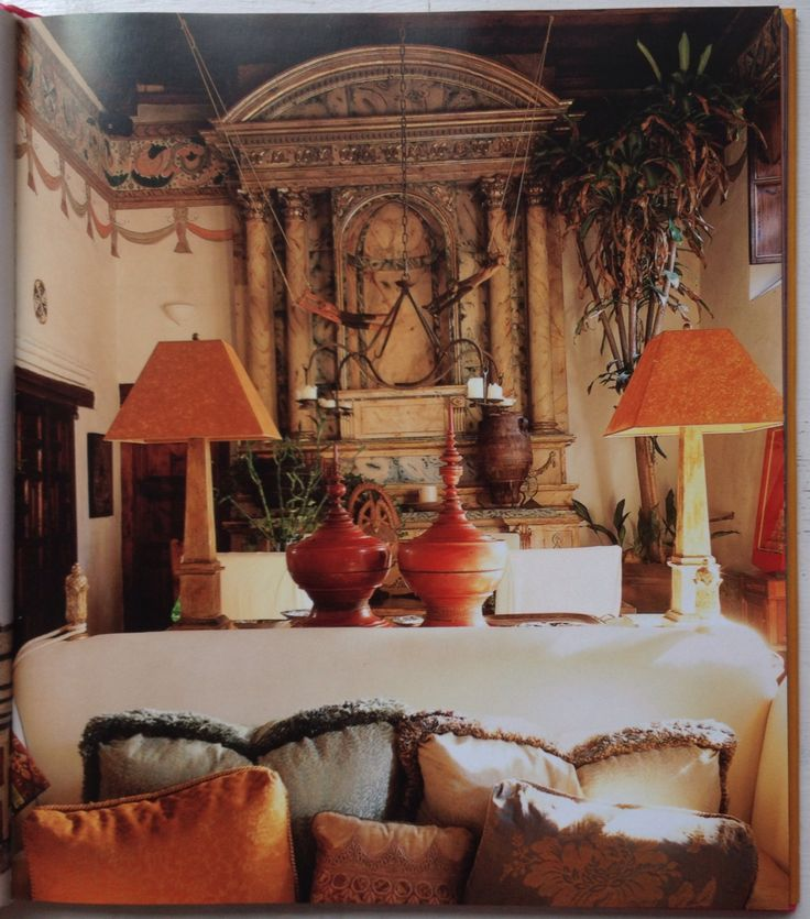 Good color scheme with orange and natural - photographed