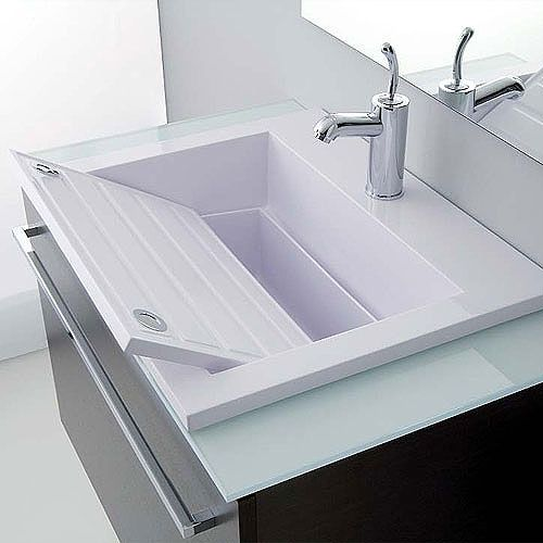 Lavabo Lavatoio Zeus doppia vasca - Versione 60 cm