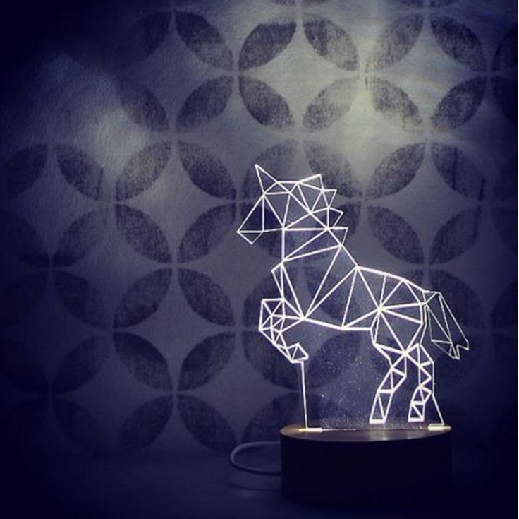 Fantastical Steed is our best-selling lamp, perfect everywhere from the hall table to a child's night light. Our stylish unicorn design adds a touch of magic to any room.