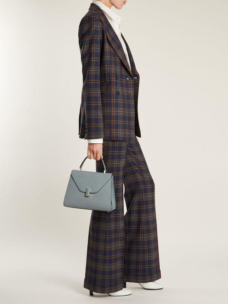 Iside medium grained-leather bag   Valextra   MATCHESFASHION.COM