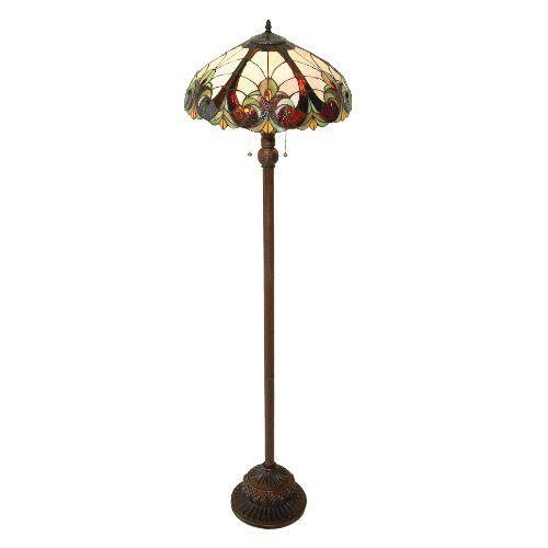 Save $ 96.5 order now Chloe Lighting CH18780FL 2 Light Victorian Floor Lamp at B