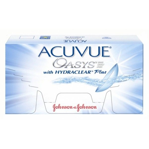 ACUVUE OASYS WITH HYDRACLEAR PLUS (12ER PACK) SILIKON HYDROGEL KONTAKTLINSEN
