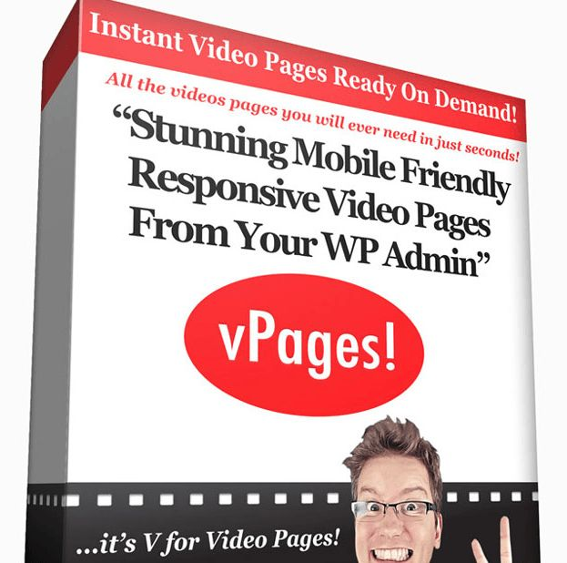 vPages By Matthew McDonald Review – Amazing Tool That Show You How To Create A Stunning Mobile Friendly 100% Responsive Video Page From Your WP Admin Without Changing Your Theme Or Messing Up Your Site