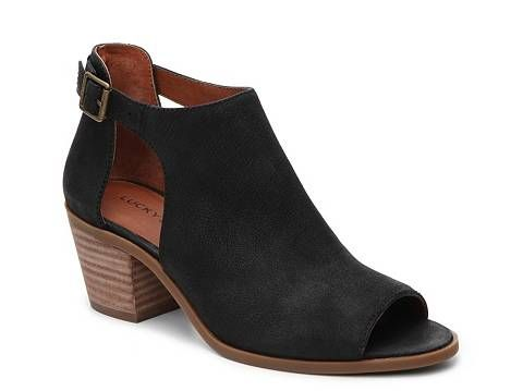Lucky Brand Barimo Bootie, love the black and nude color