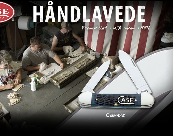 Håndlavede knive fra W.R. Case & Sons Cutlery Company