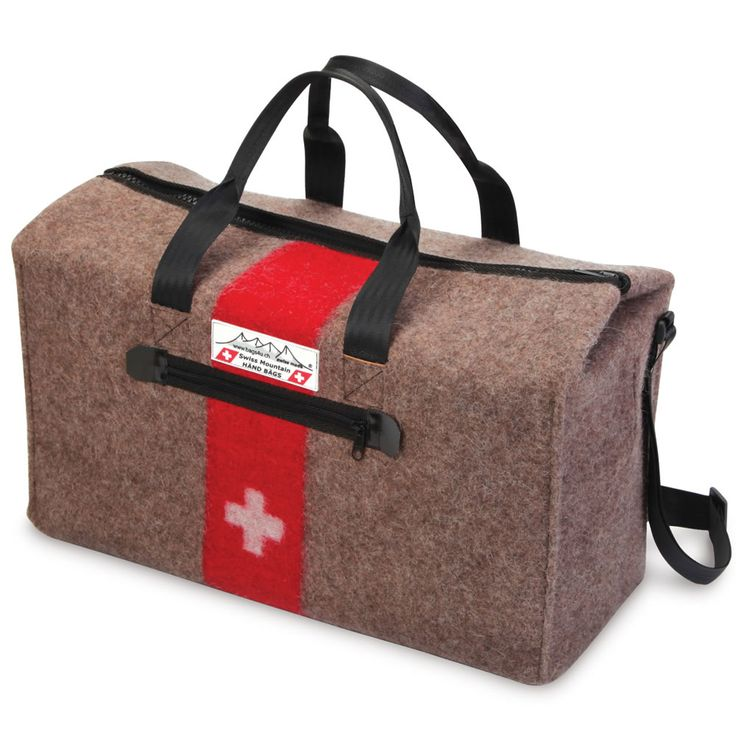 The genuine swiss army blanket duffel hammacher schlemmer this is
