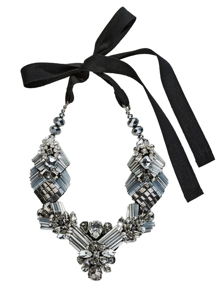 RIENNE Eamon Necklace from Designrs.co Who's ready for a glamorous night? This statement necklace is like a fairytale with its Swarovski crystals featuring unique hand-painted crystals and platinum-content.