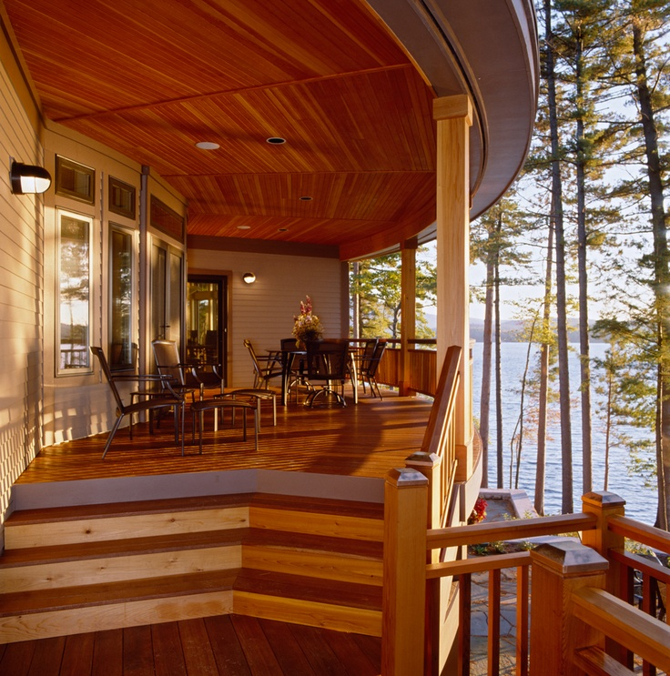 Cabot Stain Australian Timber Oil On A Honey Teak Deck Showcases The Warm Beauty Of The Wood