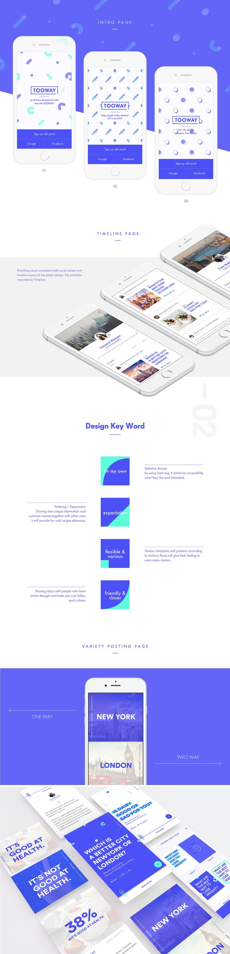 TOOWAY Mobile application on Behance