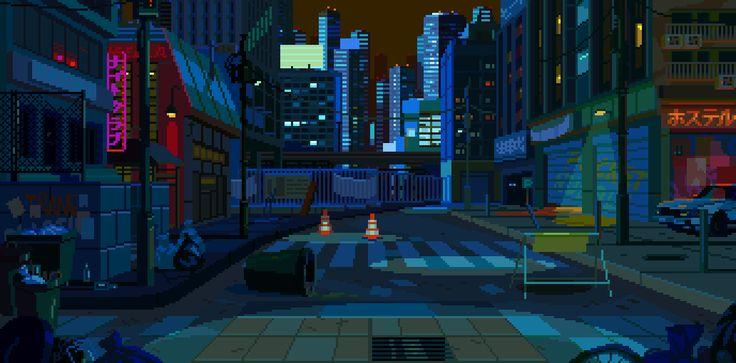 Les créations animées de Waneella, pixel artiste   Webdesigner Trends